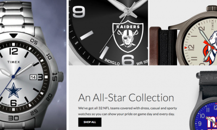 Timex Partners With NFL On Collection