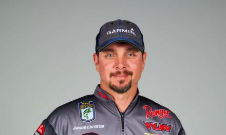 Garmin Signs Fishing Pro Jason Christie