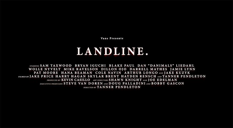 vans landline