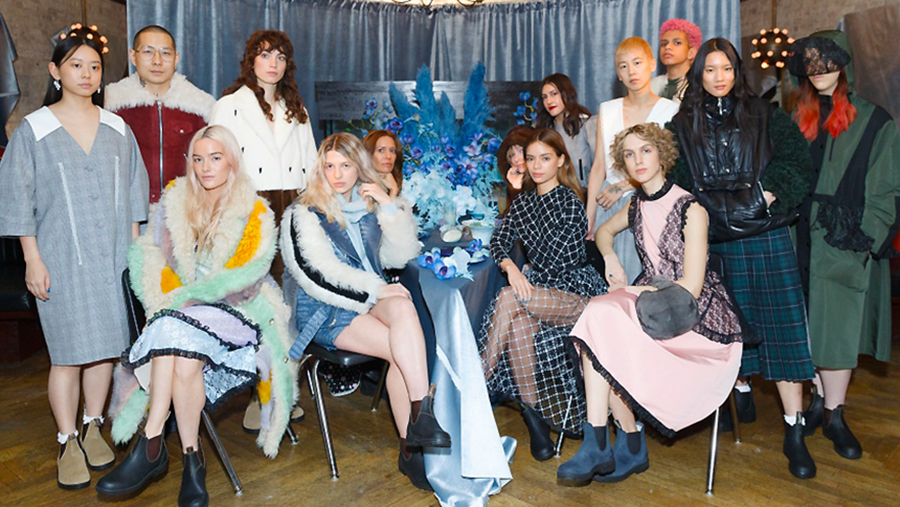 Sandy Liang x Blundstone: Modern Femininity At New York Fashion Week