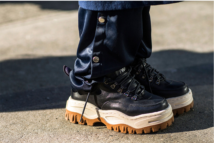 Sneaker Style … NY Fashion Week F/W18
