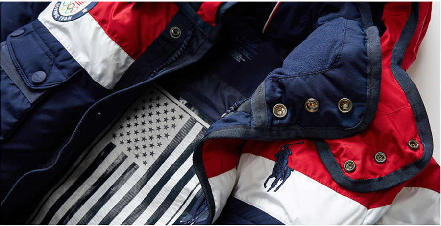 Made In The USA: Olympic Gold Jacket