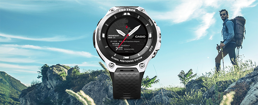Limited Edition Color: Casio Pro Trek WSD-F20