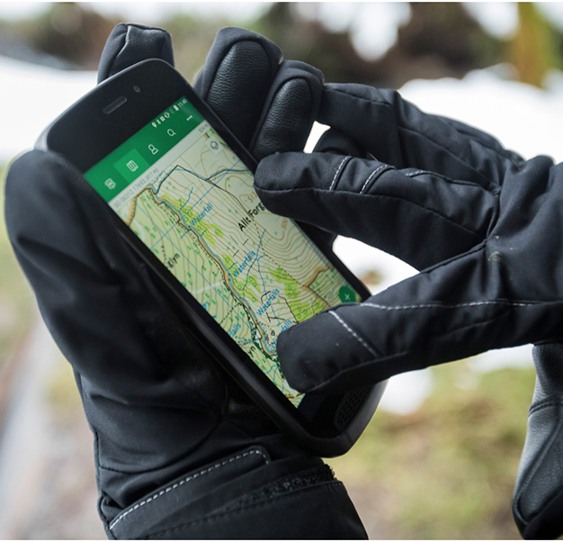 Explore With Land Rover's Smartphone