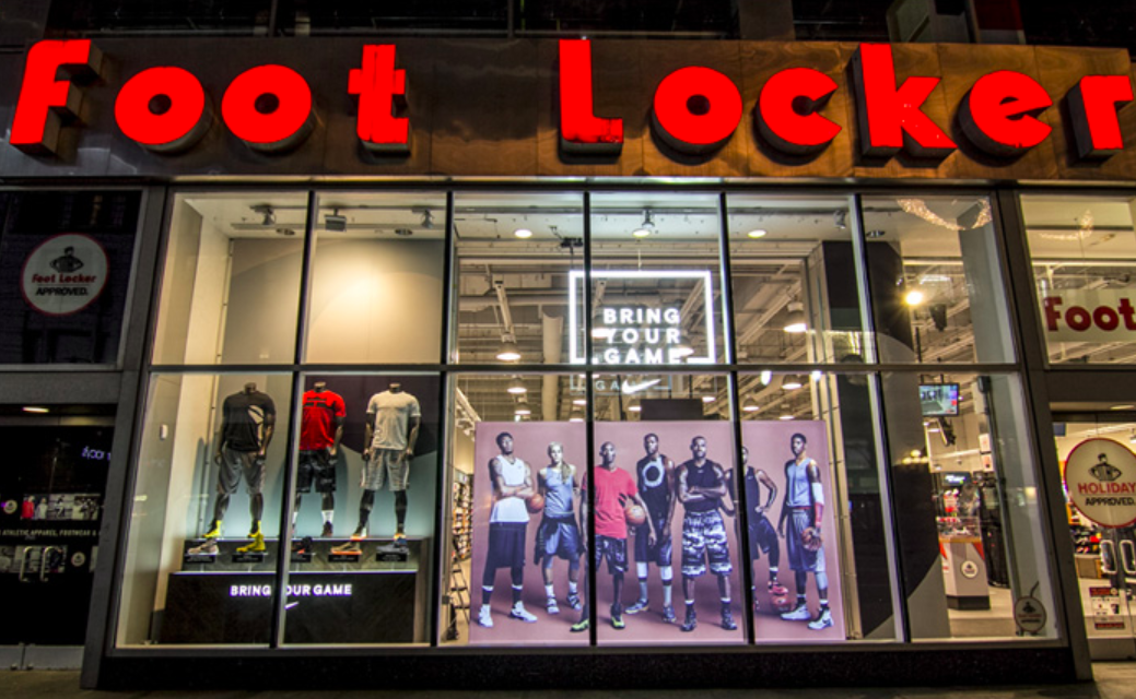 Foot Locker's Q4 Comps Slide 3.7 Percent