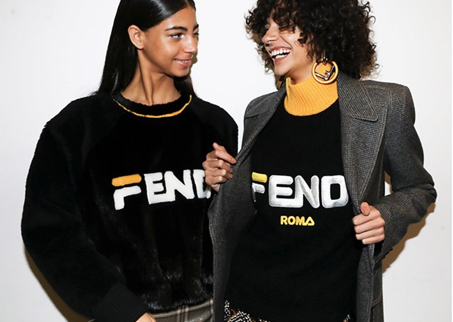 "Fendi Swapped Its ""F"" With Fila's Iconic Logo"