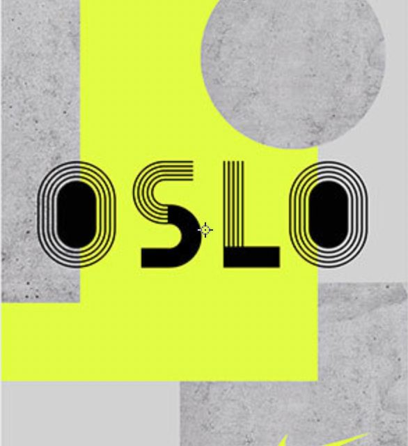 Nike Oslo … Custom Typeface Oh Yeah