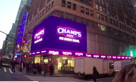 Champs Sports Opens New Flagship Store In NYC's Times Square