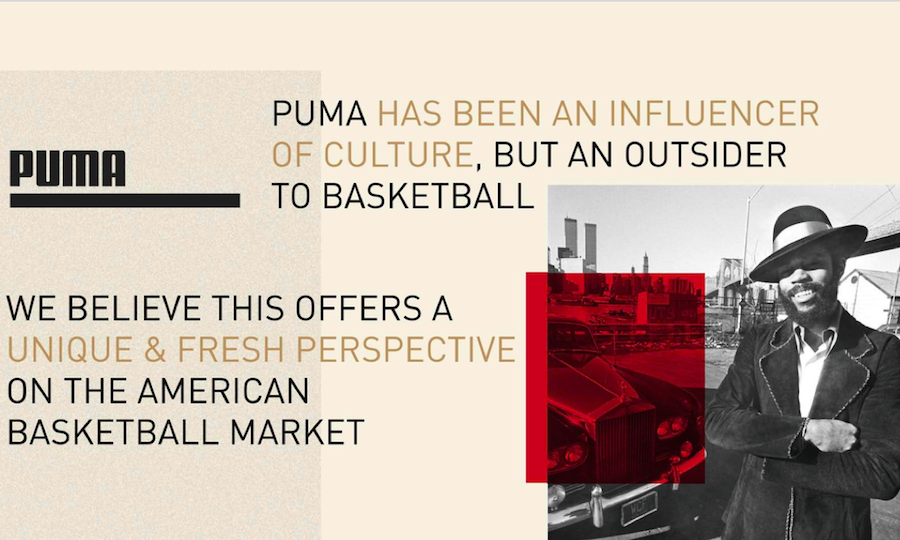 Puma Looks At Basketball To Continue U.S. Momentum