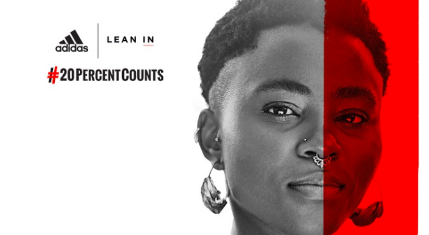 Adidas Partners With Lean In To Promote Equal Pay For Women