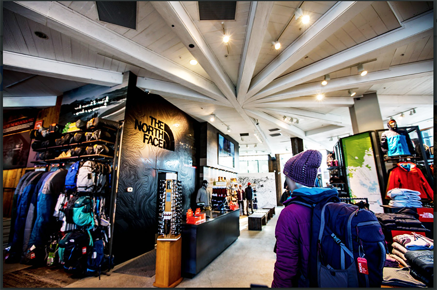 fcea2fd3d The North Face Whistler Store Gets A Facelift | SGB Media Online