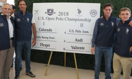 Team U.S. Polo Assn. Competes for the U.S. Open Polo Championship