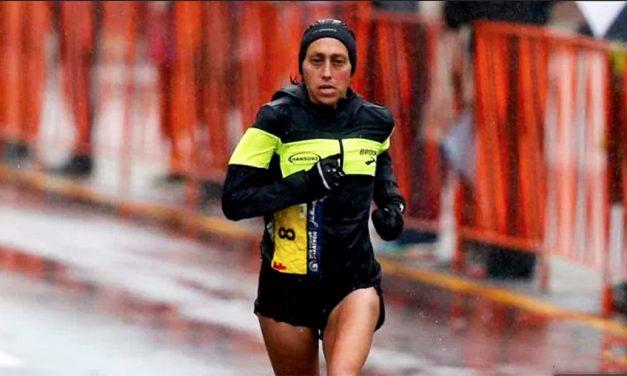 USA's Desiree Linden Wins 2018 Boston Marathon's Women's Division