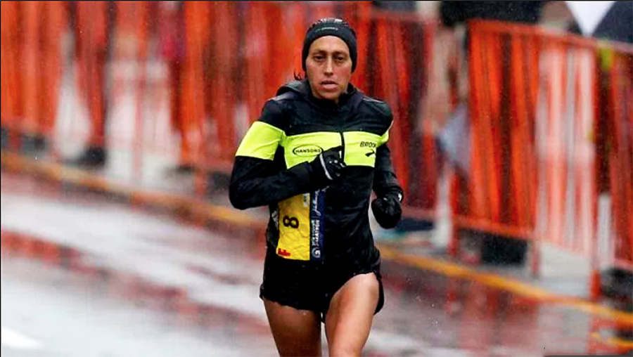 USA's Desiree Linden Wins 2018 Boston Marathon's Women's Division