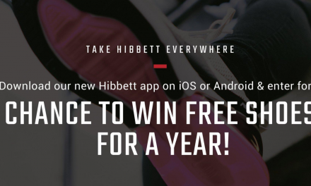 Hibbett Sports Introduces New App & Chance To Win Free Sneakers For A Year