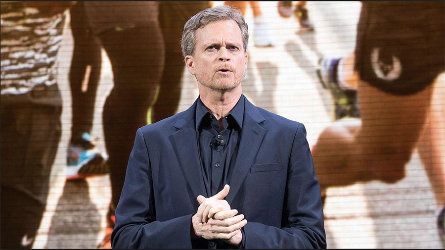 Nike CEO Mark Parker On Company's Digital Progress