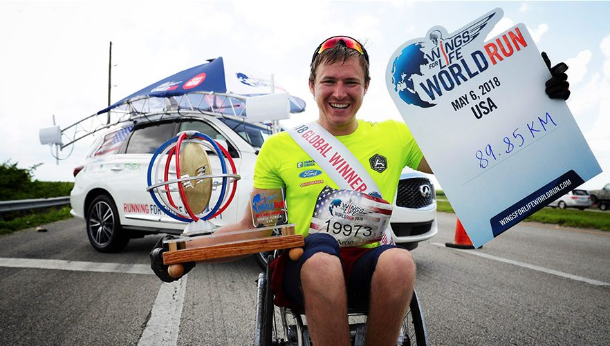 The 2018 Wings For Life World Run … Running For Those Who Can't