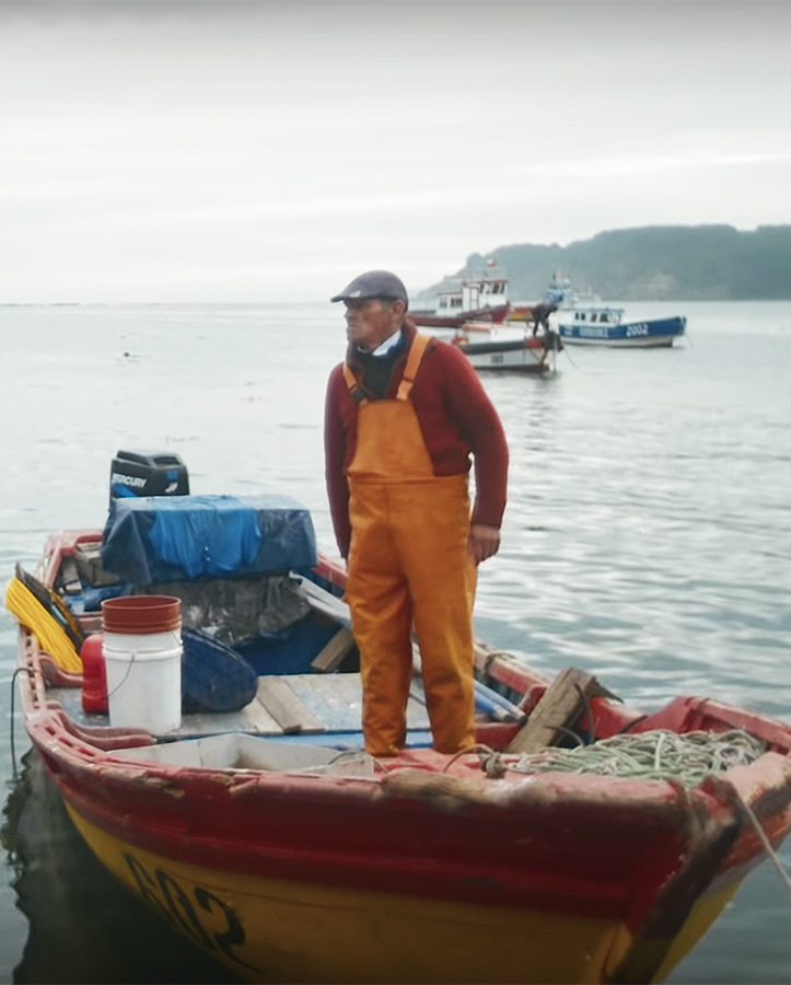 b130774344e0 Headquartered in California, the three friends run their operation, Bureo's  Net+Positiva program, in the U.S. and in Chile, working together with  fishermen ...