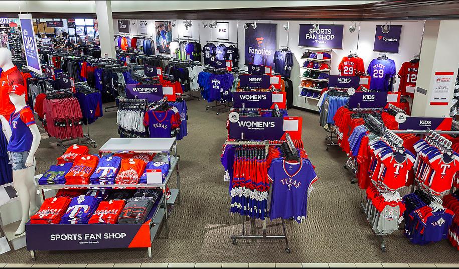 JC Penney To Open Fanatics Shops