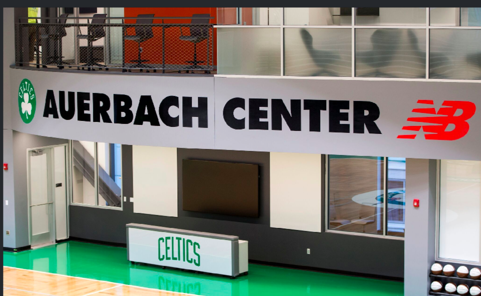 "Boston Celtics and New Balance Open ""The Auerbach Center at New Balance World Headquarters"""