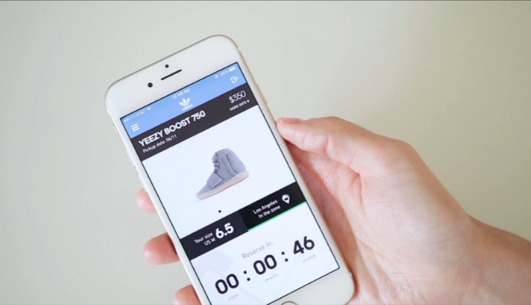 can you get yeezys on adidas app