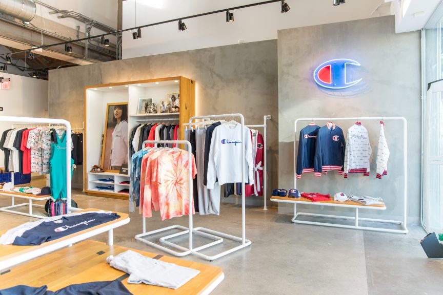 Champion Athleticwear Debuts New Retail Store In New York City  20b14a6de