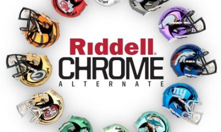 Riddell Introduces NFL Chrome Alternate Helmet Collection