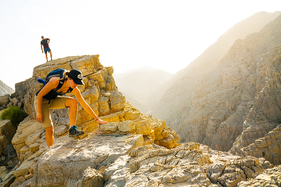 Move Quickly In The Mountains … Merrell's MQM Rush Flex Hybrid Hiker