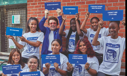 Adidas And Billie Jean King Launch 'Here To Create Change' Campaign