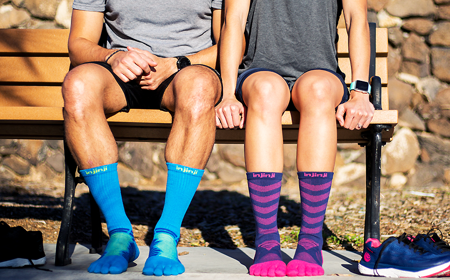 Injinji Toe Socks… Engineered To Keep Your Feet Comfortable EVERY DAY