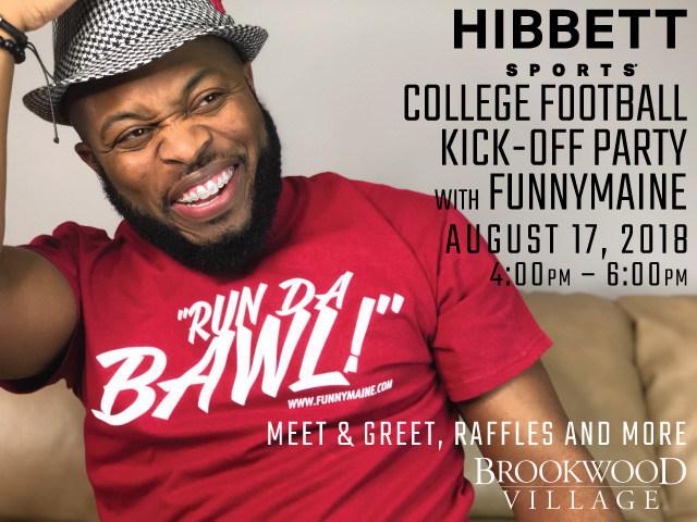 "Hibbett Sports Partners With Jermaine ""Funnymaine"" Johnson"