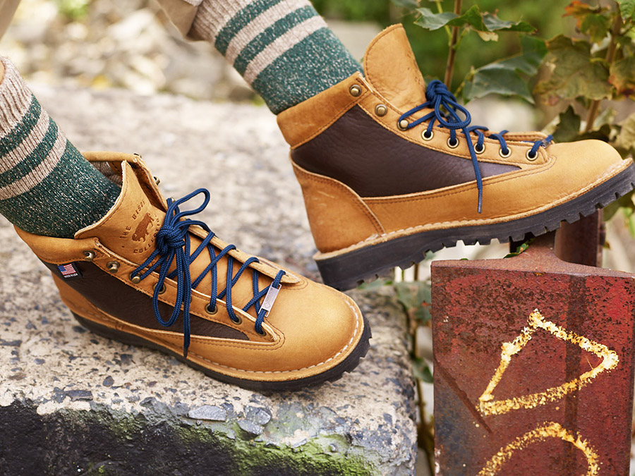 bab9ba57cfbbd ... on sale now between United By Blue and Danner. The brands collaborated  to create a USA-made capsule collection featuring a Bison Leather Boot, ...
