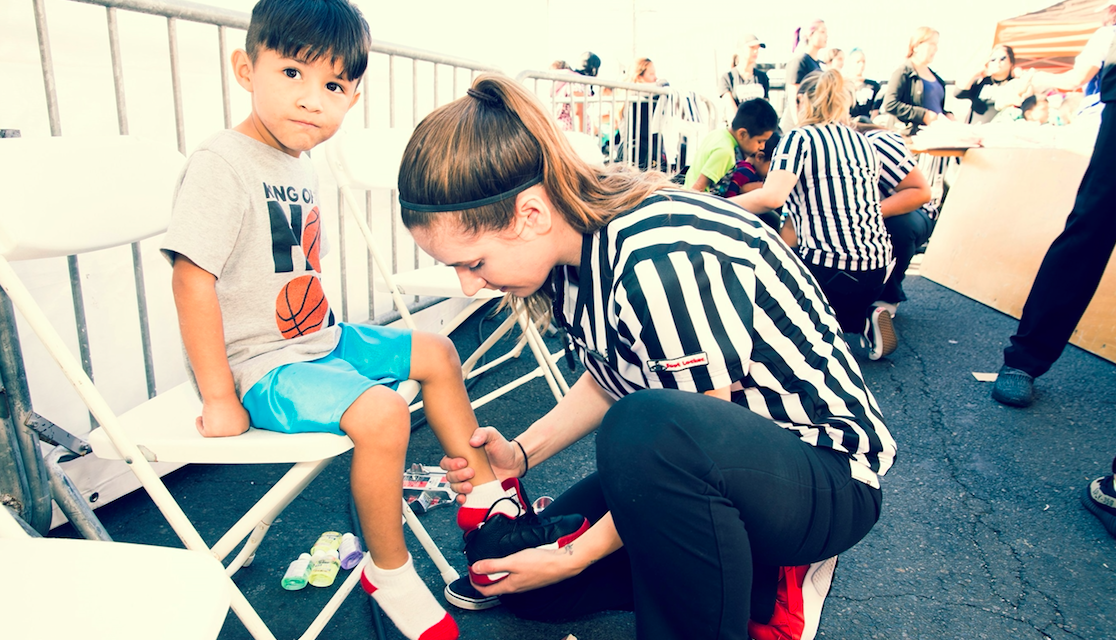 Foot Locker Partners With Fred Jordan Missions