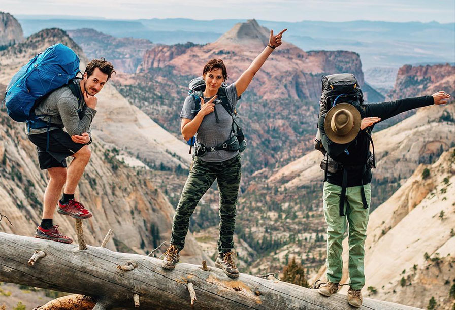 Backpacking With Gregory Adventure Travel Packs
