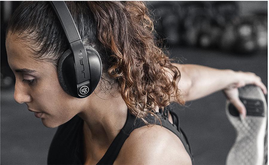 Over-Ear Sport Headphones From JLab Audio