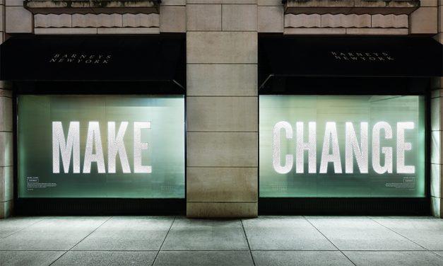 """Barneys New York … This Holiday Season """"Make Change"""" That Counts"""