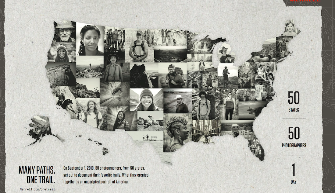 "Merrell Launches ""One Trail"" Project To Showcase And Celebrate Diversity"