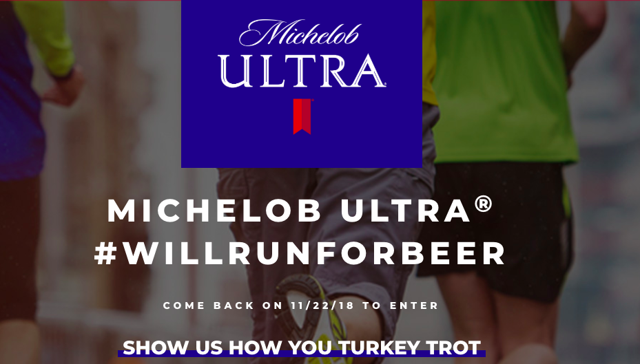 Michelob Ultra Launches Turkey Trot Campaign