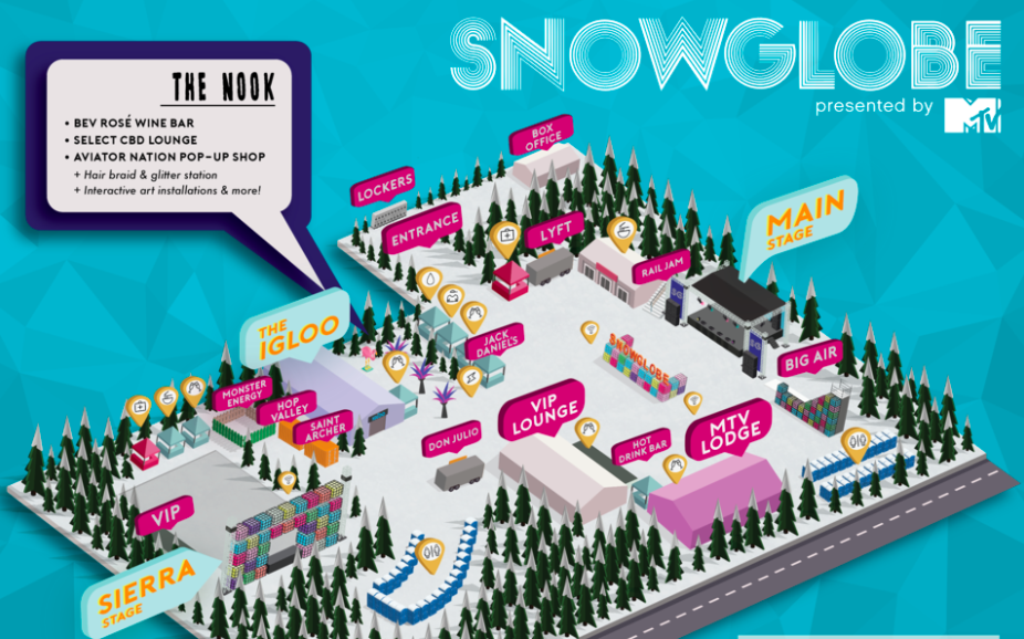 MTV's SnowGlobe Expands Sponsorship Program For 2018 Festival