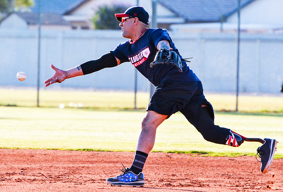 Spotlight … Louisville Slugger Warriors National Amputee Team With Veteran Carlo Adame