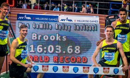 Brooks Beasts Set New World Record In 4×1 Relay