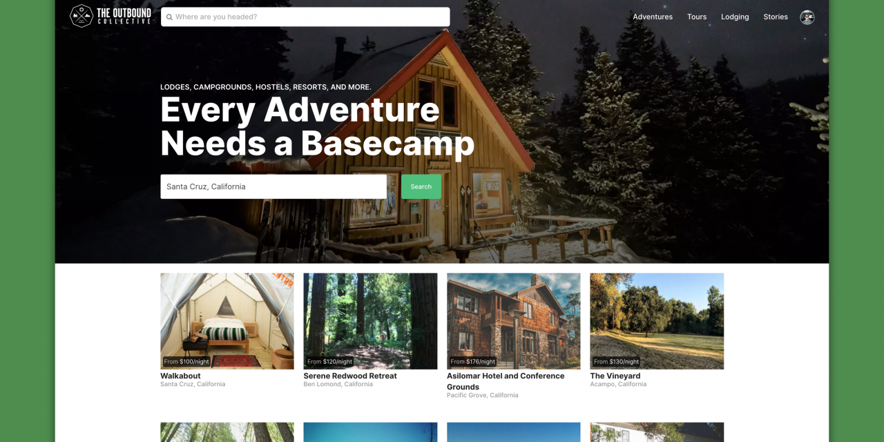 The Outbound Collective Launches Adventure Travel Marketplace