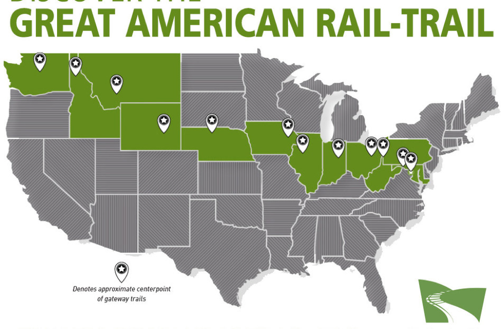 Rails-to-Trails Conservancy Announces Trail That Crosses Nation