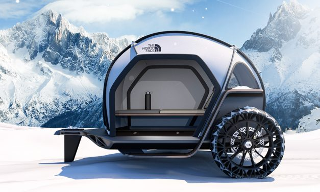 CES Show … The North Face Debuts Futurelight Fabric Camper