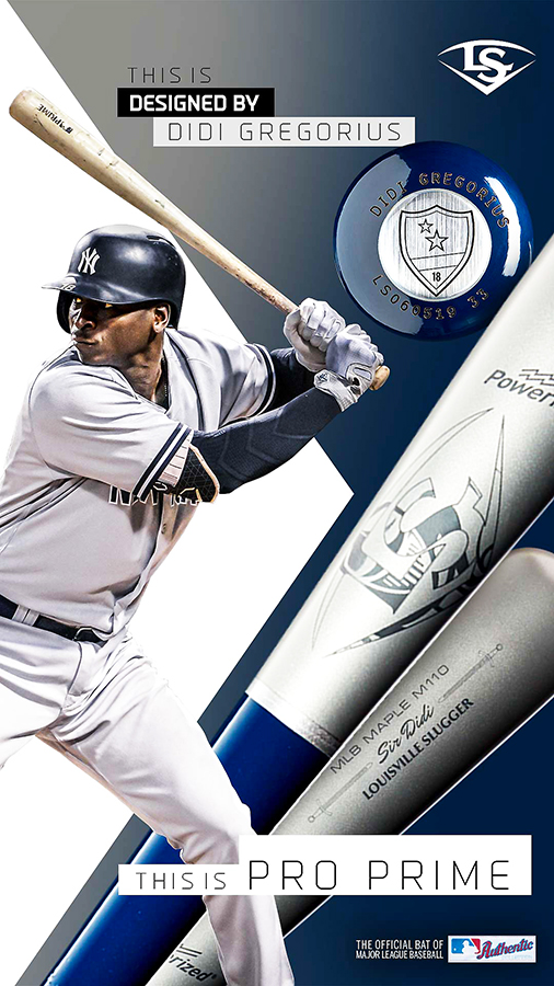 The Creators … Louisville Slugger x 2020 MLB Pro Prime Bat
