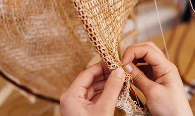 Creative + Disruptive … Turning Cork Into Thread