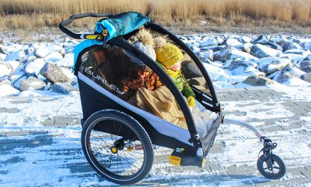 Burley Celebrates 40 Years With Child Bike Trailer Collection