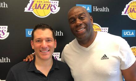Magic Johnson's First-Ever Exclusive Memorabilia Deal Announced