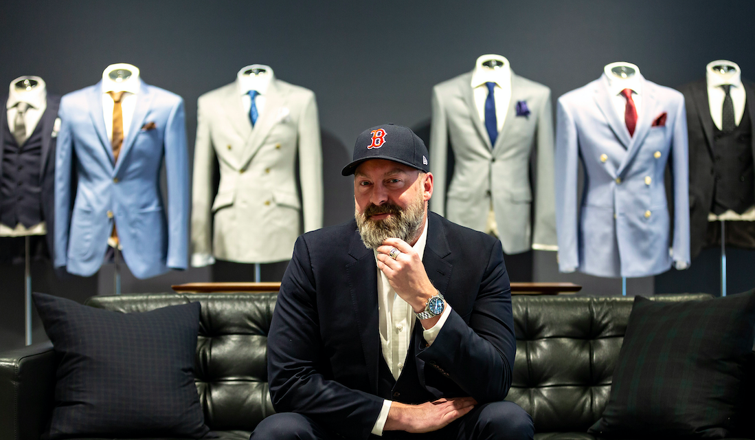 Indochino Partners With Boston Red Sox