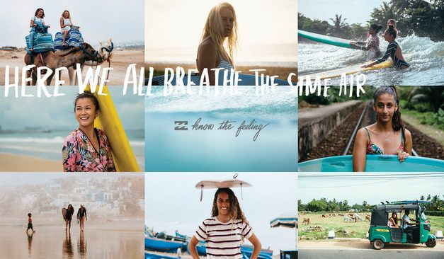 Billabong Unites Females Across the Globe Through Surfing In A Progressive New Brand Campaign